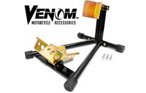 Venom Universal Motorcycle Wheel Chock