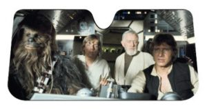 Plasticolor 003700R01 Star Wars Sunshade
