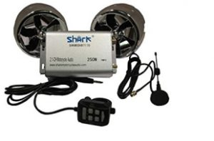 Shark Motorcycle Audio 250W 2 Speakers-Review