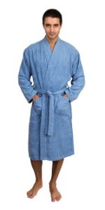 TowelSelections Men's Turkish Cotton BathRobe