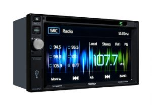 Jensen VX4022 2 DIN Multimedia Receiver