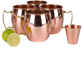 A29 Moscow Mule Solid Copper Unlined