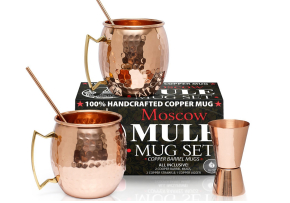 Benicci Set of 2-Pure Solid Moscow Mule