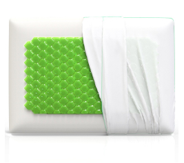 Equinox Cooling Gel Memory Foam Pillow