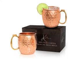 KoolBrew Moscow Mule Copper Mugs