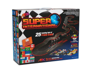 AFX 21018 Super International Car Slot Set
