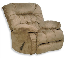 Catnapper Teddy Bear Oversized Chaise Swivel Recliner
