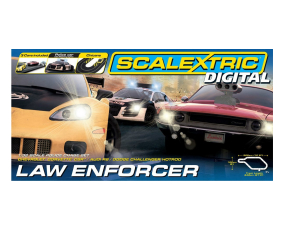 Scalextric Digital Law Enforcer Race Set