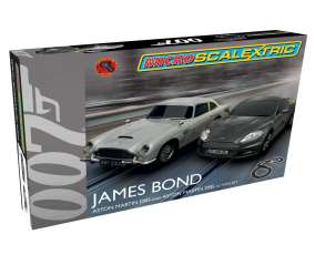 Scalextric James Bond Micro Slot Car Race