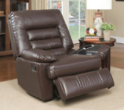 Serta Big & Tall Memory Foam Massage Recliner