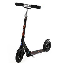 Micro White & Black Adult Scooters