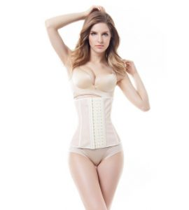 Women Latex Waist Trainer Corset Waist Cincher