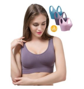 Women Seamless Bras 4 Pack Wirefree