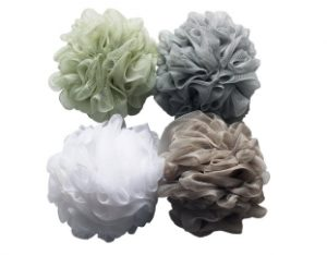 Bath Shower Sponge Pouf Loofahs