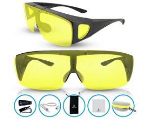 BLUPOND Wrap Around Polarized Sunglasses
