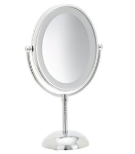 Conair Oval Shaped LED Double Makeup Mirror