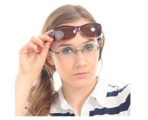 Duco Unisex Wear Over Prescription Glasses