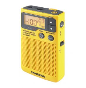 Sangean DT 400W Pocket Radio