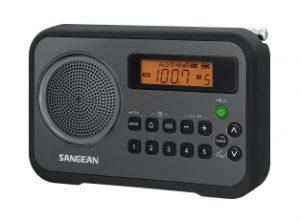 Sangean PR D18BK AM FM Radio