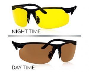 5543ef858e Knight Visor Set Of 2 HD Driving Glasses – Night Vision   Daytime Driving  Glasses