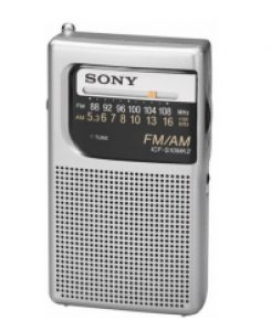 Sony ICF S10MK2 Pocket Radio