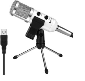 USB Condenser Mic Fifine Plug & Play Podcasting