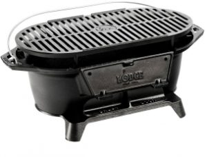 Lodge L410 Pre Seasoned Charcoal Grill