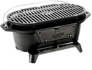 Lodge L410 Pre Seasoned Charcoal Grill